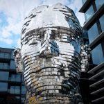 kafka sculpture
